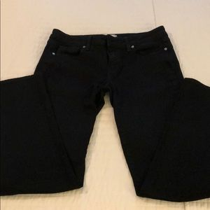 Authentic Paige black skinny jeans